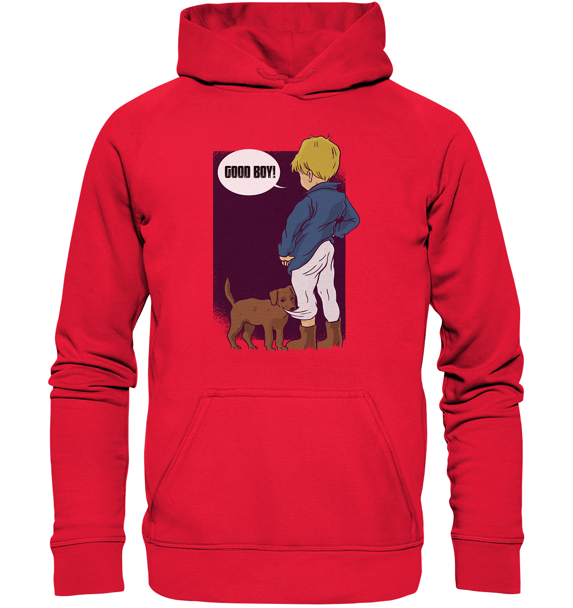 -GOOD BOY- - Kids Hooded Sweat