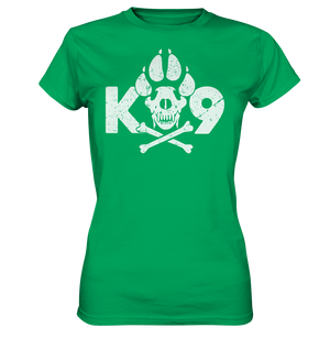 K9 Skull  - Ladies Premium Shirt