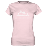 -DOGS ARE A GIRLS BEST FRIEND- Ladies Premium Shirt