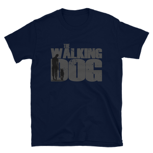 -THE WALKING DOG- Kurzarm-Unisex-T-Shirt