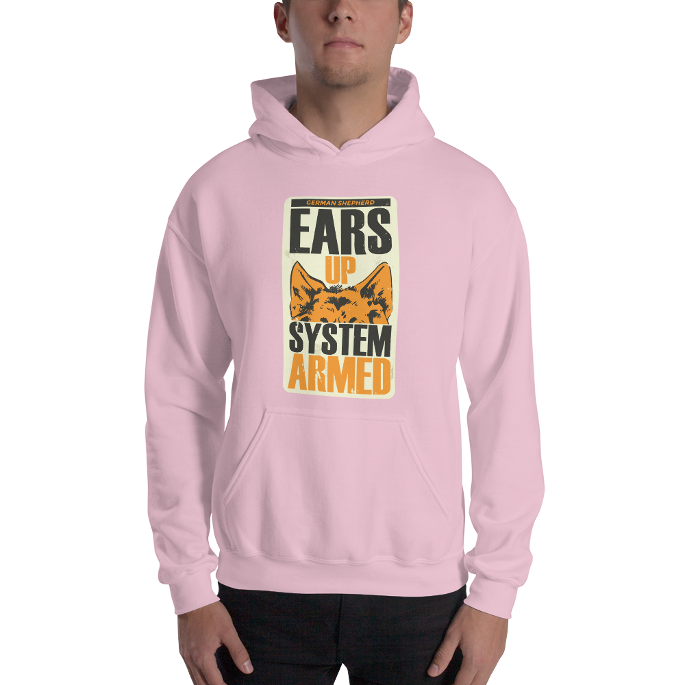 -EARS UP - SYSTEM ARMED- Kapuzenpulli
