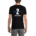-2 Ass to Risk- Kurzarm-Unisex-T-Shirt