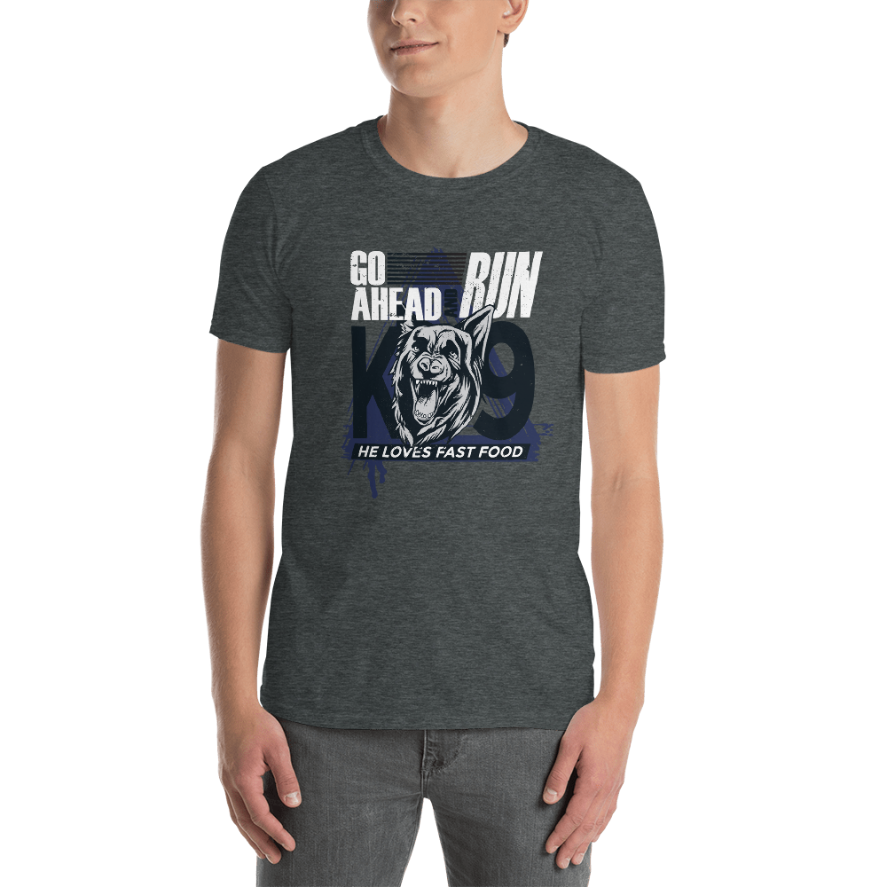 -GO AHEAD RUN- Kurzarm-Unisex-T-Shirt