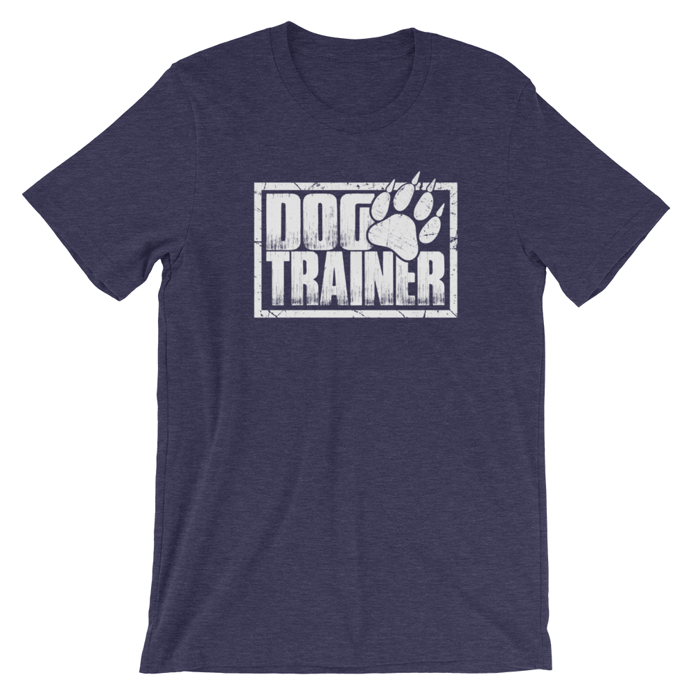 -DOG TRAINER- Kurzärmeliges Unisex-T-Shirt
