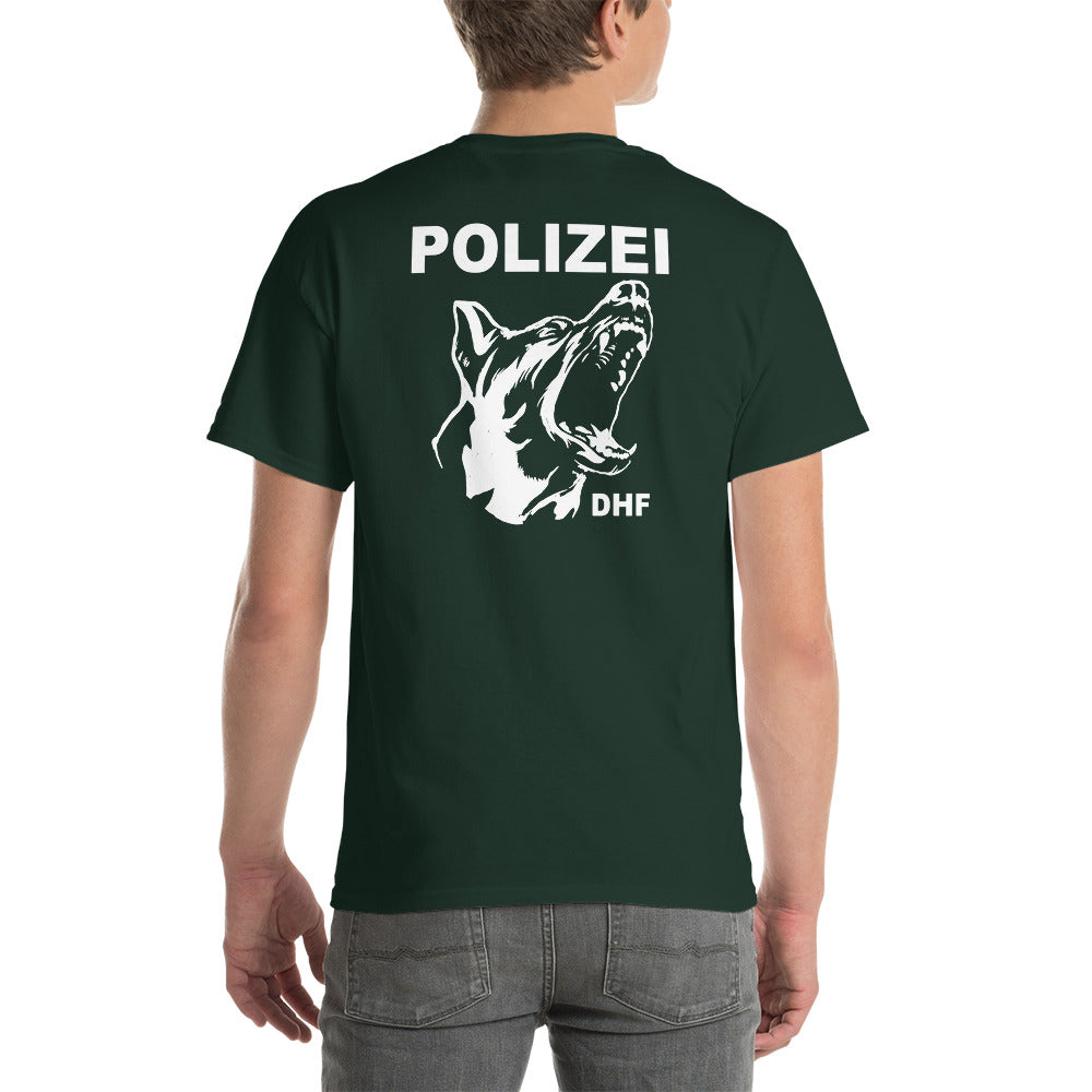 -POLIZEI DHF- Kurzärmeliges T-shirt