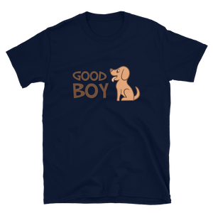 -GOOD BOY- Kurzarm-Unisex-T-Shirt
