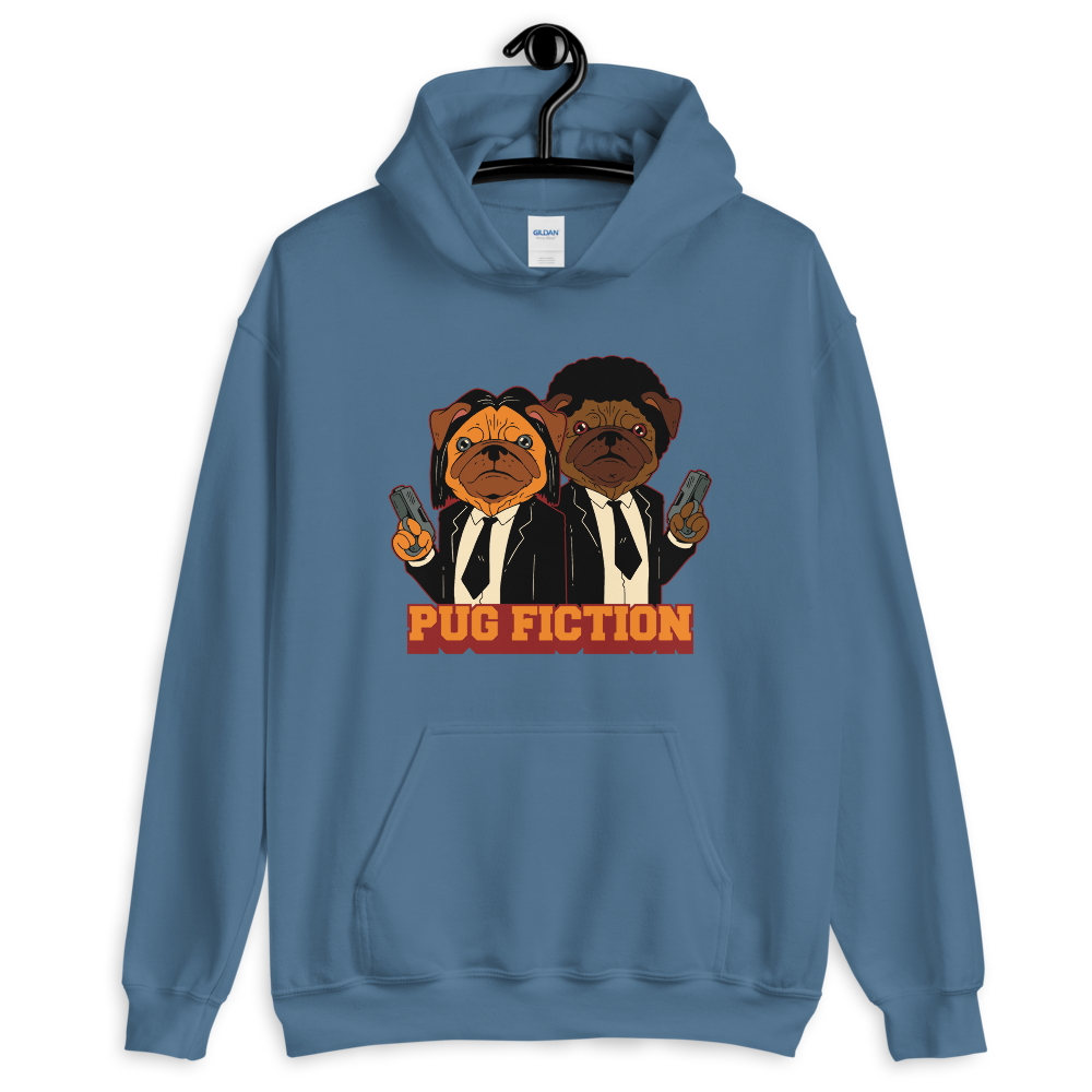 -PUG FICTION- Kapuzenpulli