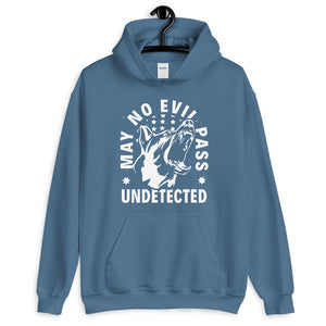 -MAY NO EVIL PASS UNDETECTED- Kapuzenpullover