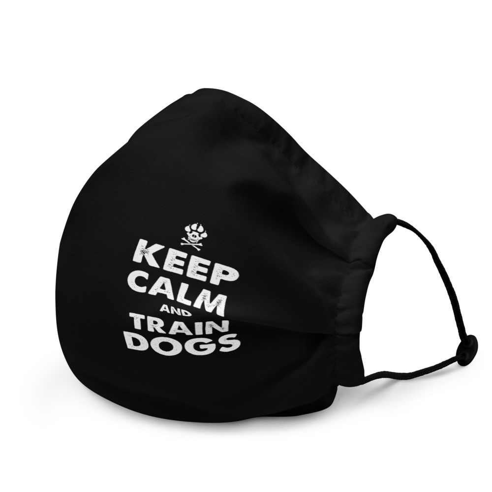 -KEEP CALM AND TRAIN DOGS-