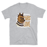 -From Paris with Love- Kurzarm-Unisex-T-Shirt