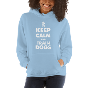 -KEEP CALM AND TRAIN DOGS- Kapuzenpulli