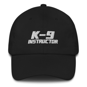 -K-9 INSTRUCTOR- Dad-Hat