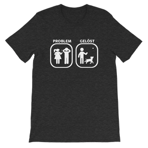 -PROBLEM GELÖST- Kurzärmeliges Unisex-T-Shirt