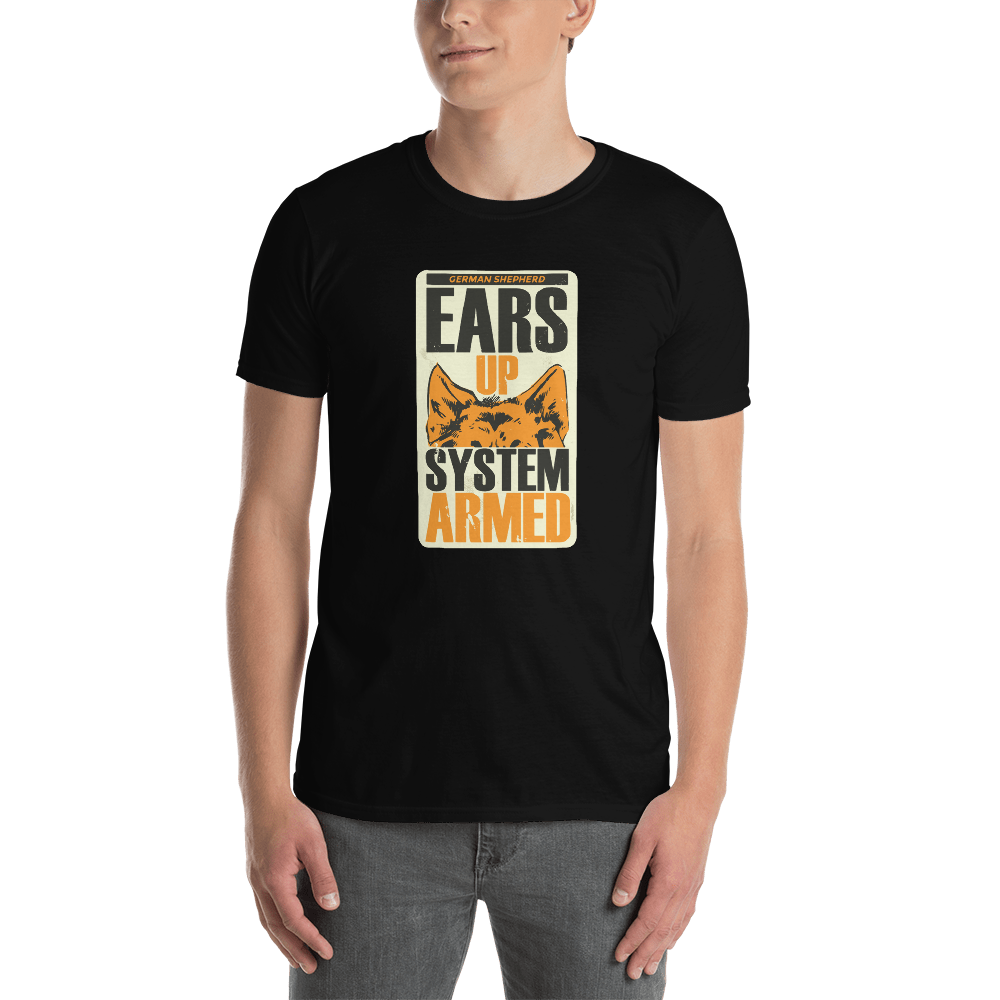 -EARS UP - SYSTEM ARMED- Kurzarm-Unisex-T-Shirt