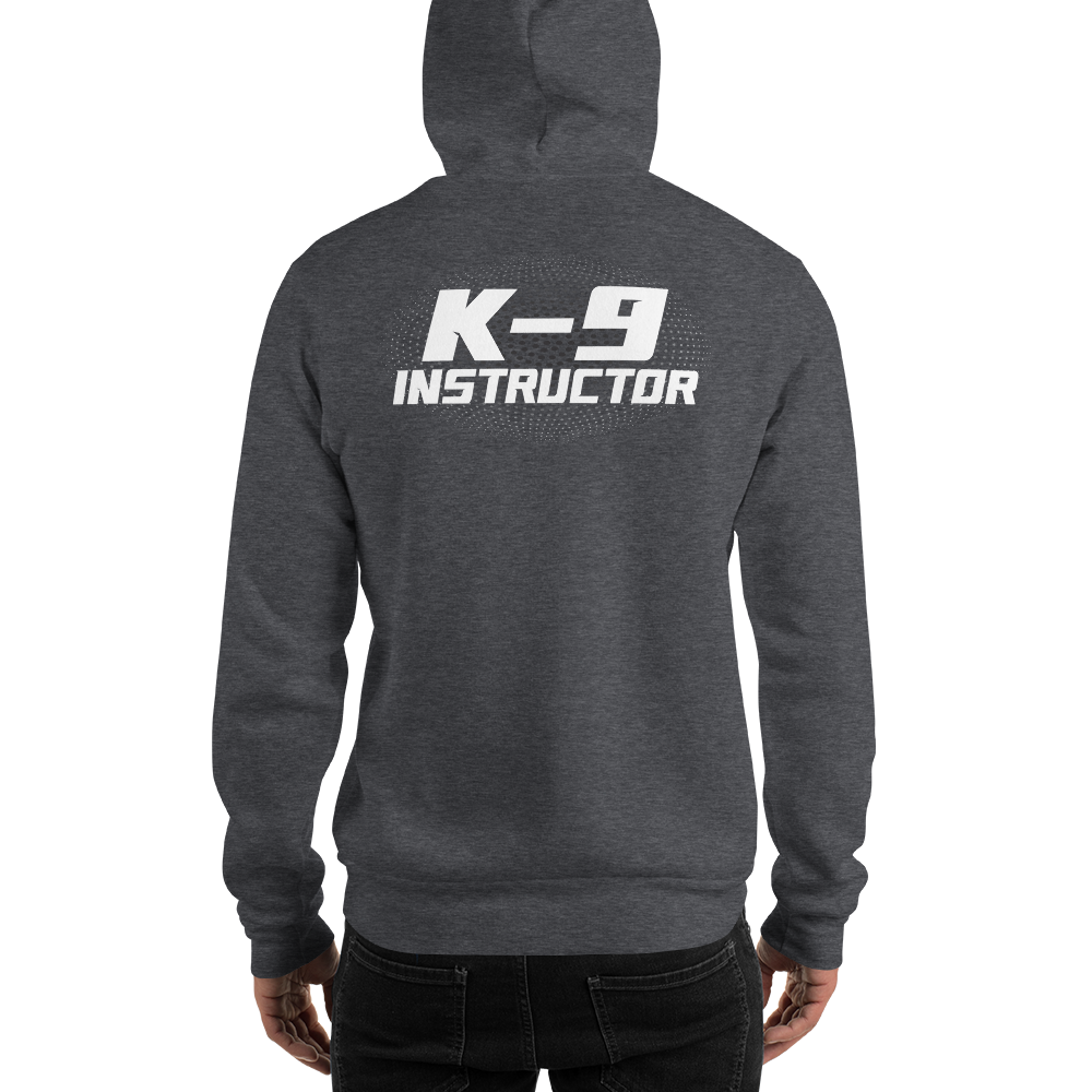 -K-9 INSTRUCTOR SKULL- Kapuzenpulli