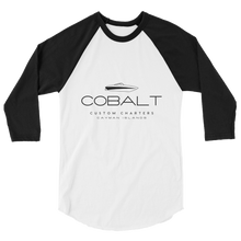Cobalt Custom Charters 3/4 sleeve shirt