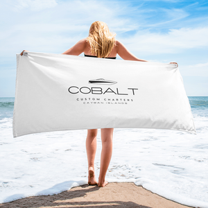 Cobalt Custom Charters Beach Towel