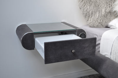 Floating Soft-Close Bedside Table