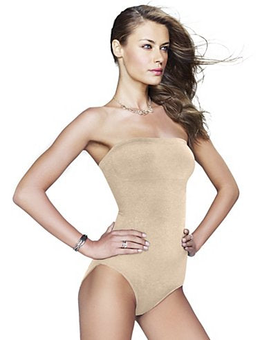 Maidenform shapewear Shiny Strapless Body Briefer.