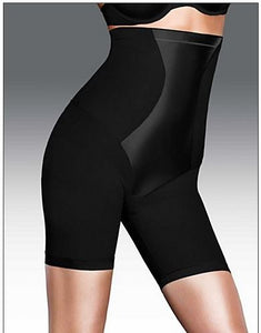 Maidenform Flexees® shapewear Easy-Up® Hi-Waist Thigh Slimmer i Sort eller Hud-farve.