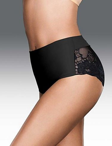 Maidenform shapewear trusse med blonde.