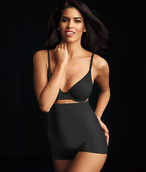 Maidenform shapewear Hi-waist Boyshort i sort.