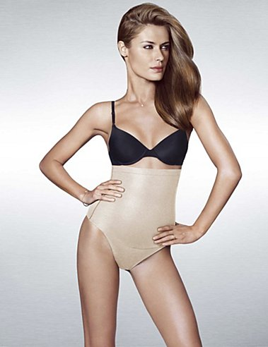 Maidenform Flexees shapewear Fat Free Dressing Hi-Waist Thong.