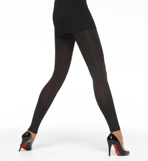 Vogue sort leggins i 80 den
