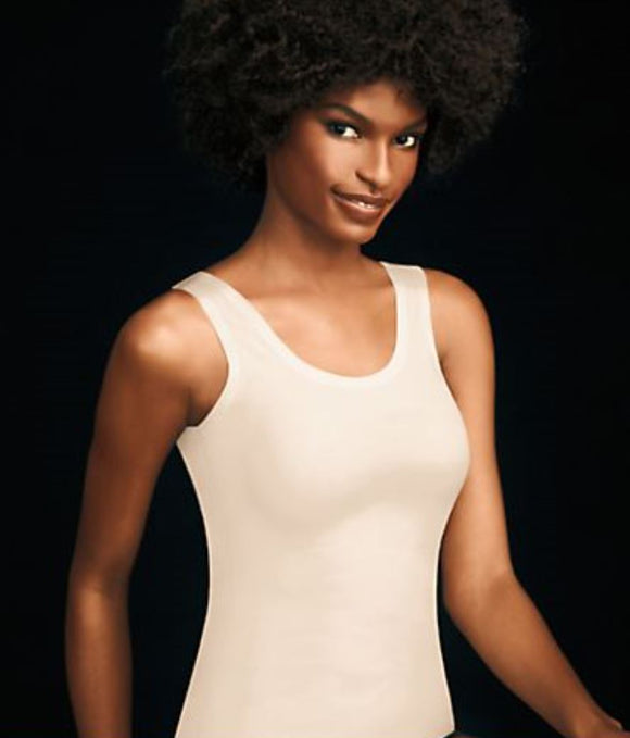 Maidenform shapewear 2-vejs tank top i hud.