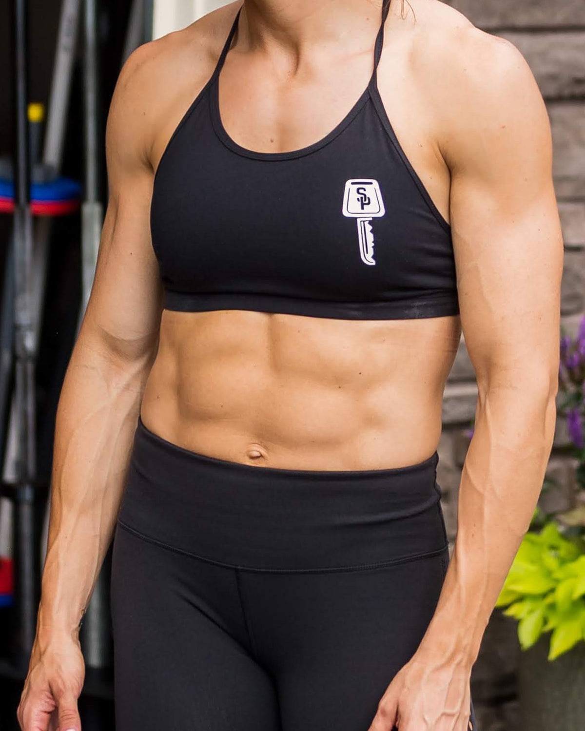 SP | Born Primitive - Women's Sports Bra - Street Parking