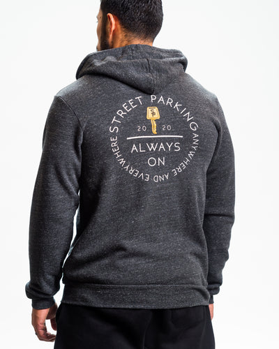 Always on Zip up Hoodie 2020 - Unisex - Street Parking