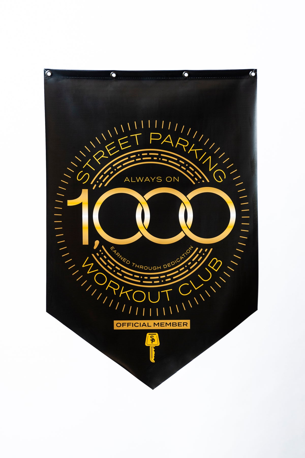 1000 workout Banner - Street Parking