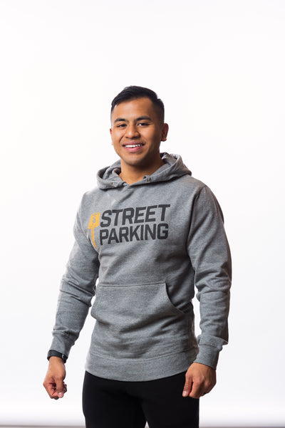 Gray Classic Hoodie - Unisex - Street Parking