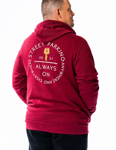 Always On 2021 Zip Up Hoodie - Unisex - Street Parking