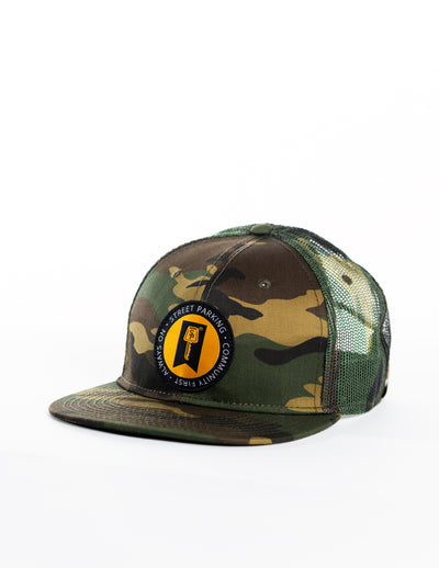 Always On Camo Patch Hat - Street Parking