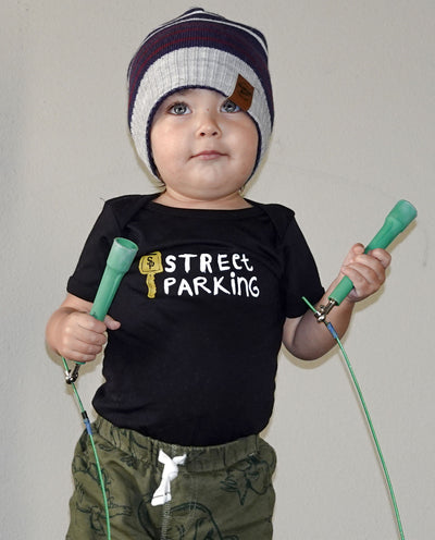 Street Parking Baby Onesie & Toddler Tee - Street Parking