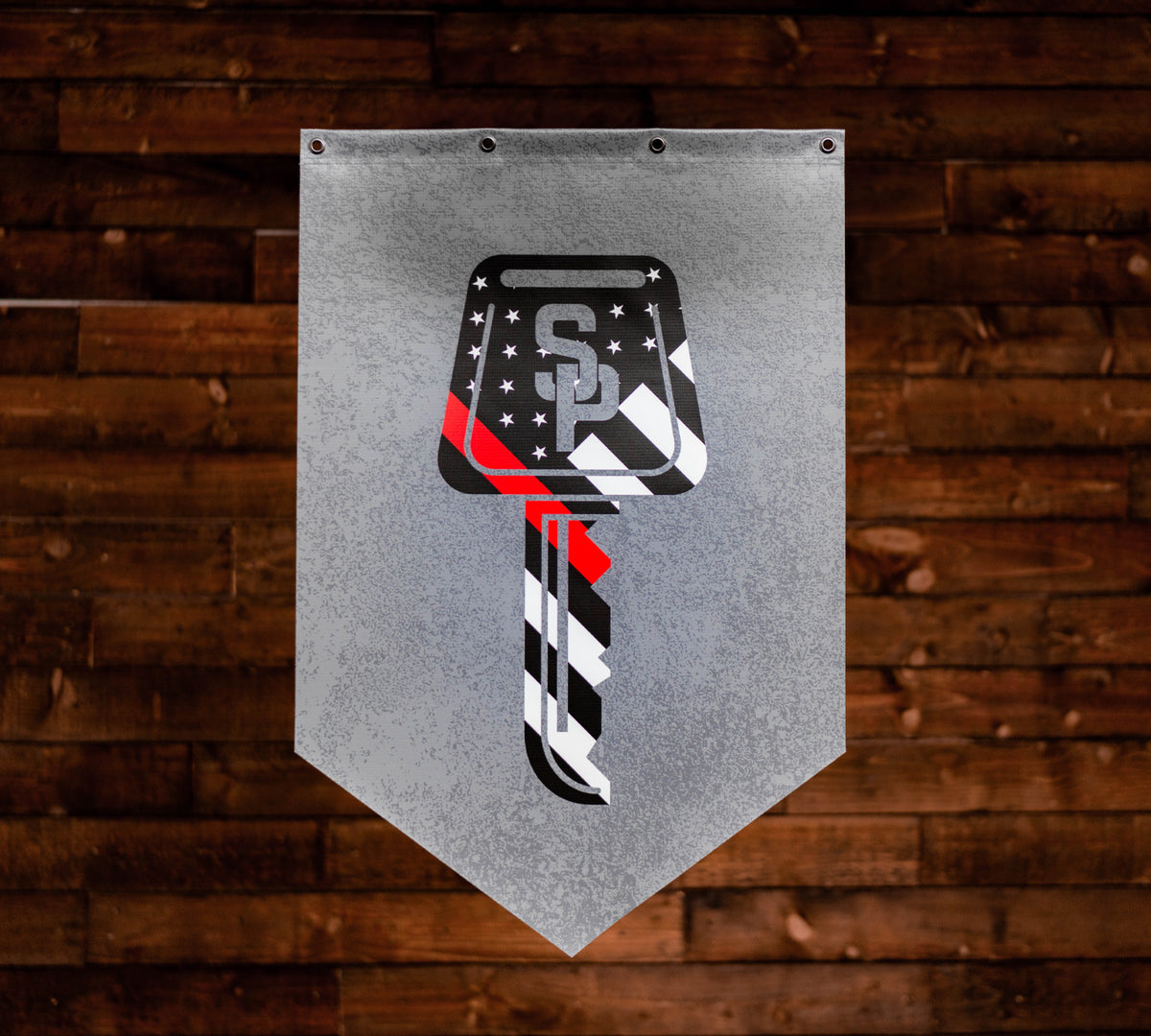 Red Line Limited Edition Pennant - Street Parking