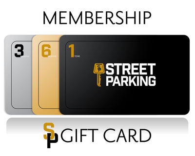 Street Parking Membership Gift Card - Street Parking