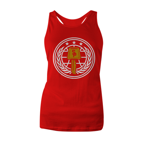 Street Parking RED Veterans Tank (Women's Cut)