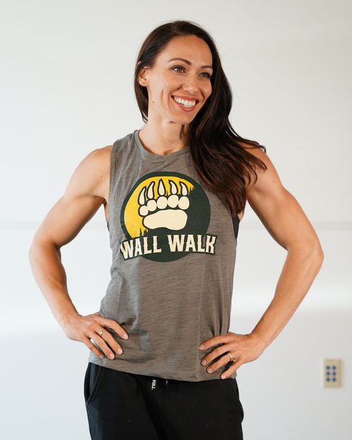 Wall Walk Women's Muscle Tank - Street Parking