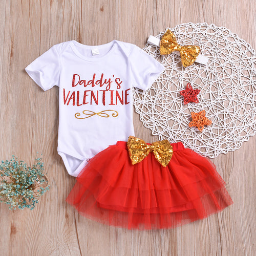 Daddy's Valentine Outfit