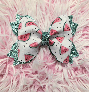 Watermelon Hairbow