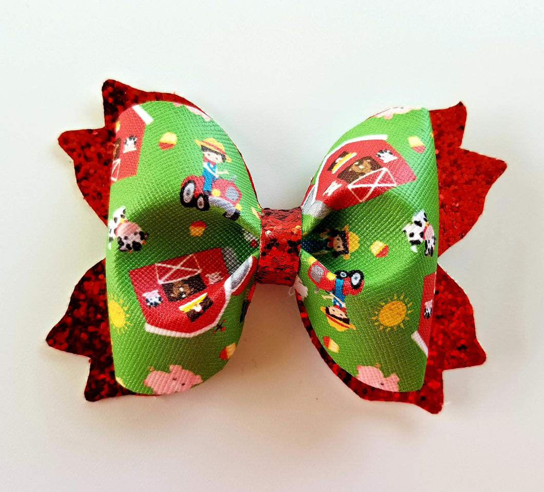 Barn Yard Hair Bow