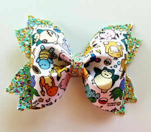 Pokemon Hair Bow