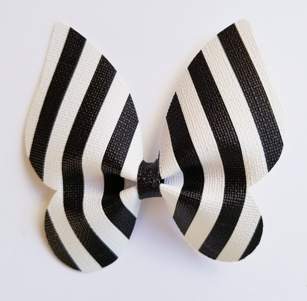 Black and White Hairbow