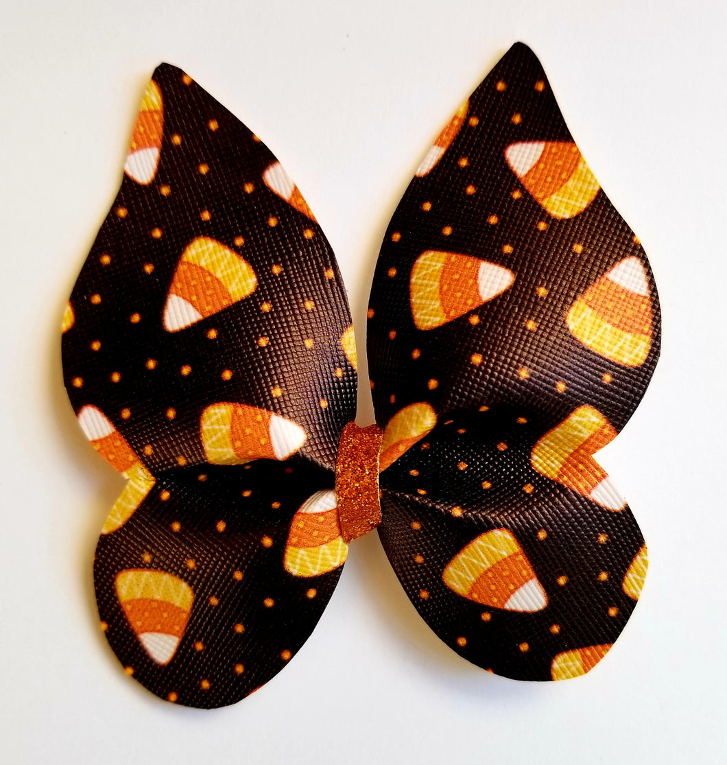Candy Corn Hairbow