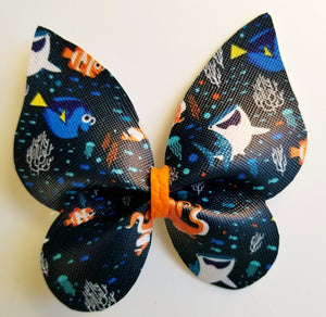 Nemo Butterfly Hairbow