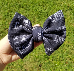 Johnny Cash Hairbow