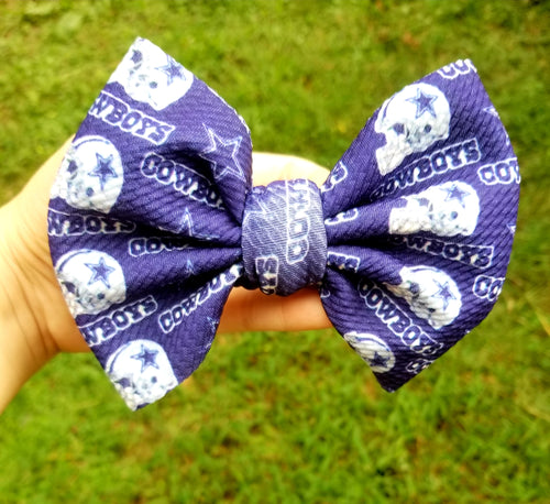 Cowboys Hairbow