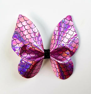 Mermaid Scale Butterfly Hairbow